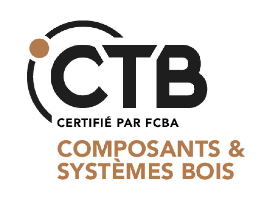 logo de la certification ctb composants et systèmes bois